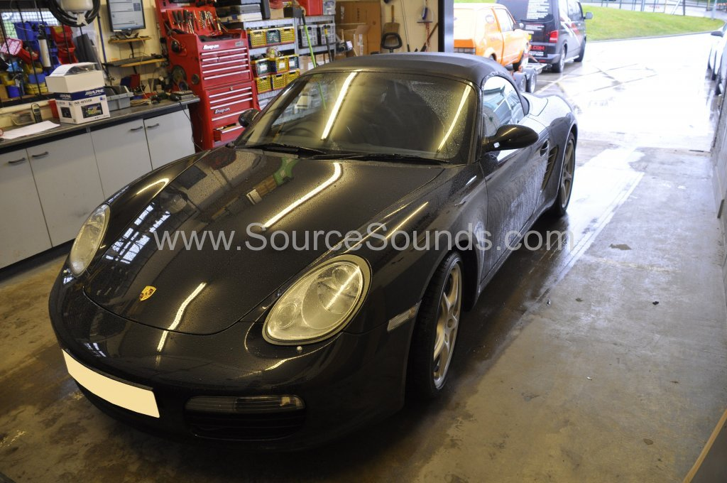 Porsche Boxster 2005 navigation upgrade 001
