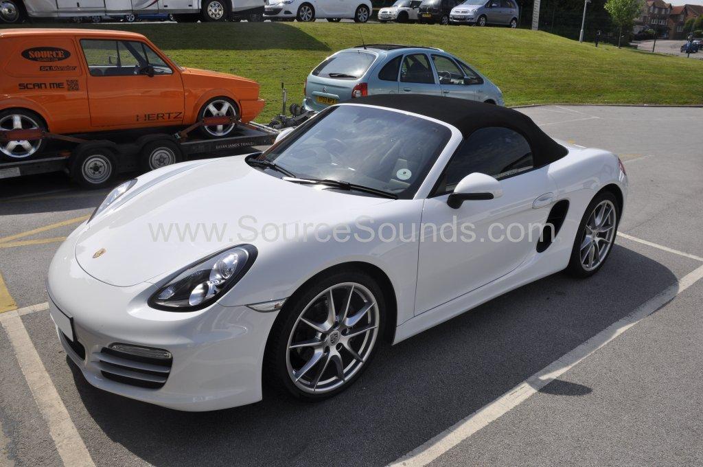 Porsche Boxster 2012 DAB upgrade 001