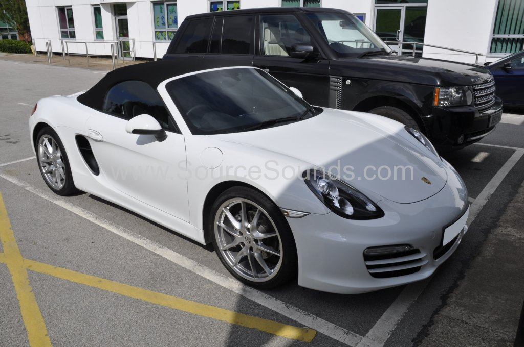 Porsche Boxter 2013 speed camera locator 001