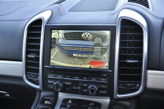Porsche Cayenne 2013 reverse camera upgrade 006