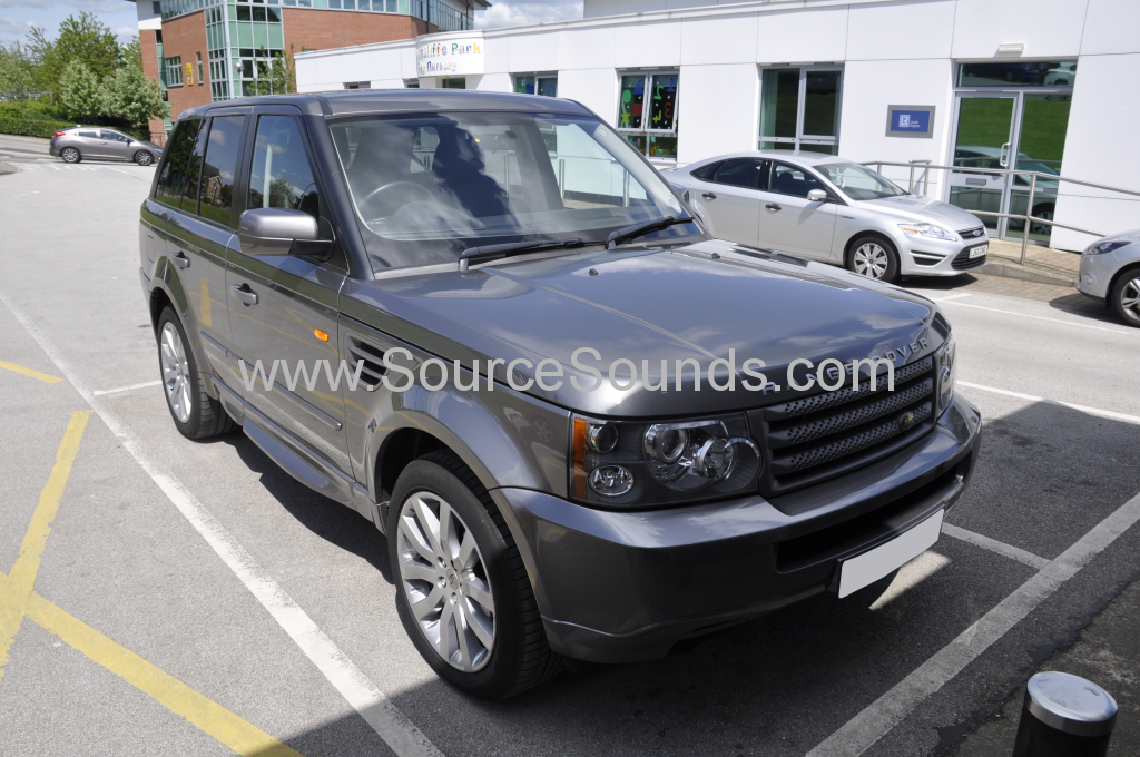 Range Rover Sport 2007 parking sensor upgrade 001