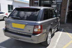 Range Rover Sport 2007 parking sensor upgrade 002