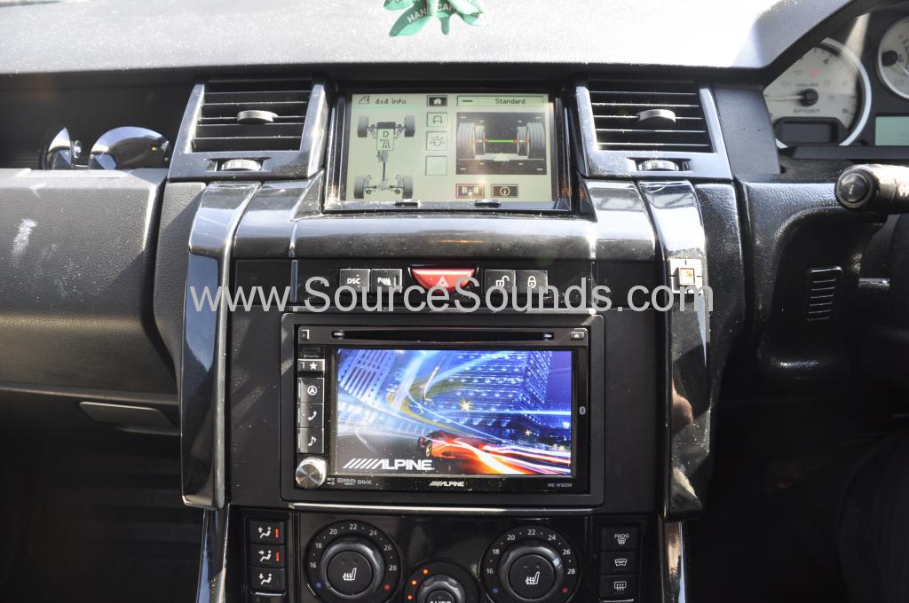 2008 Range Rover Sport Radio