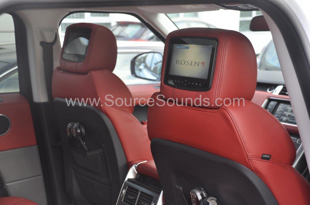 Range Rover Sport 2014 rosen headrest upgrade 009