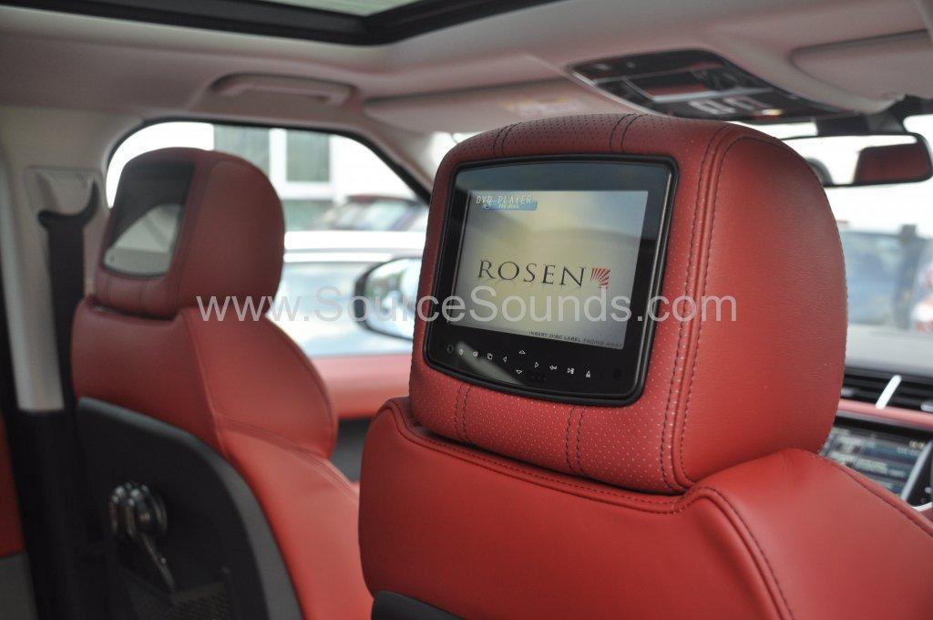 Range Rover Sport 2014 rosen headrest upgrade 010