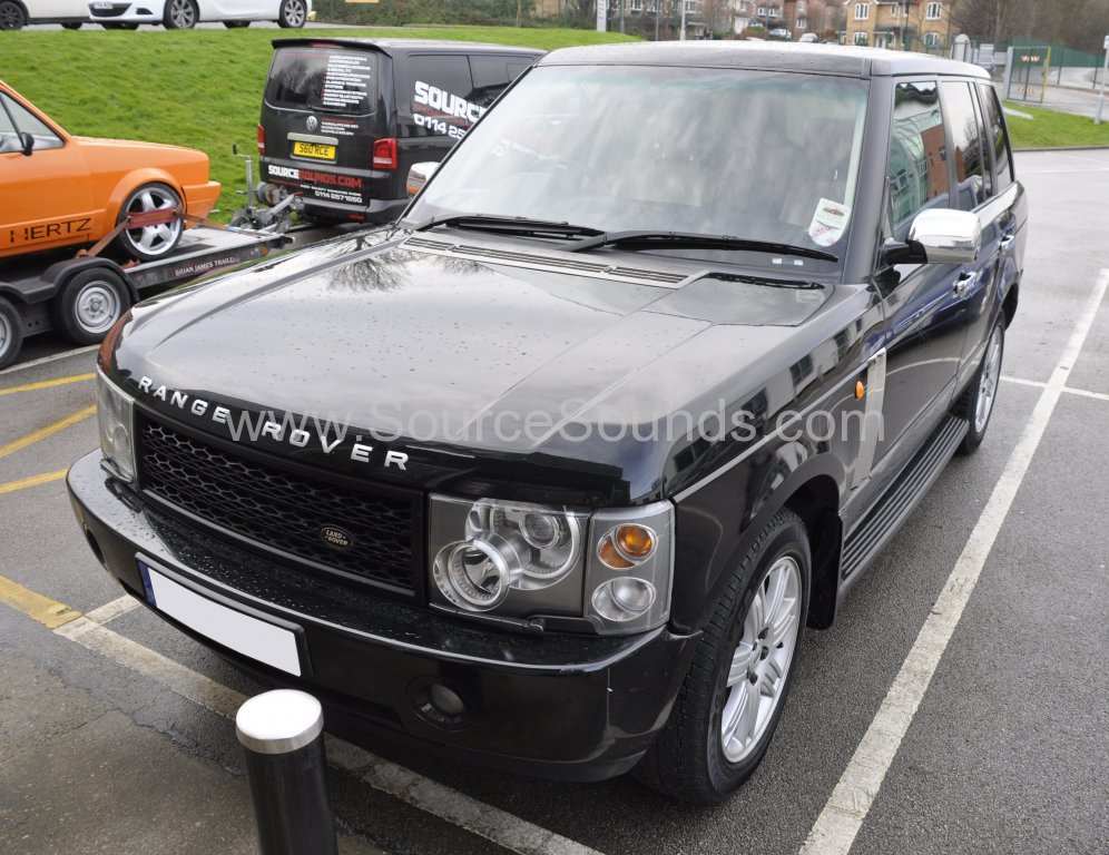 Range Rover Vogue 2002 screen upgrade 001