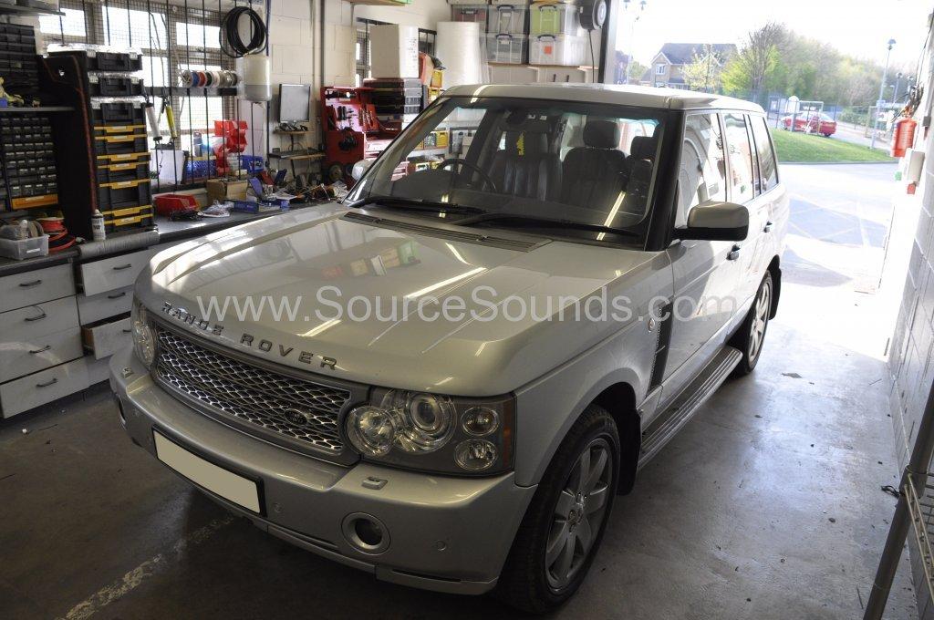Range Rover Vogue 2007 bluetooth upgrade fibre optic 001.JPG