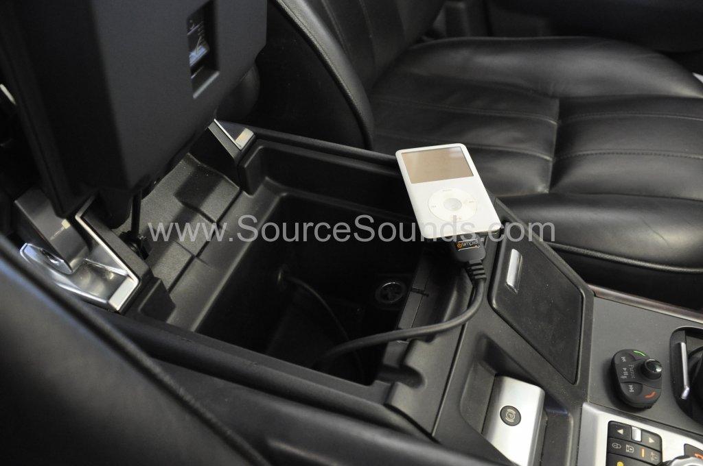Range Rover Vogue 2007 bluetooth upgrade fibre optic 005.JPG
