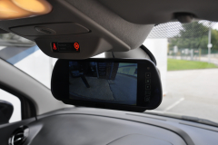 Renault Captur 2015 reverse camera mirror 002