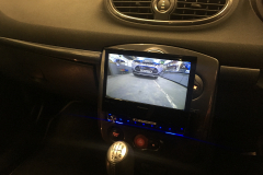 Renault Clio RS 2009 DAB screen reverse cam upgrade 005