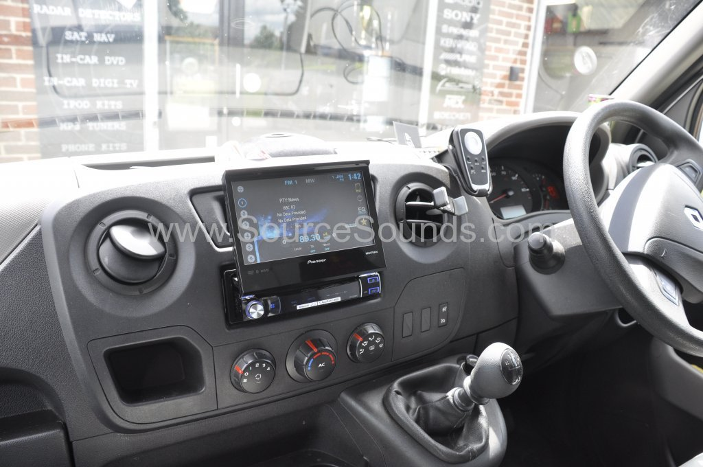 Renault Master 2014 navigation upgrade 009