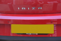 Seat ibiza 2015 rear parking sensors 004