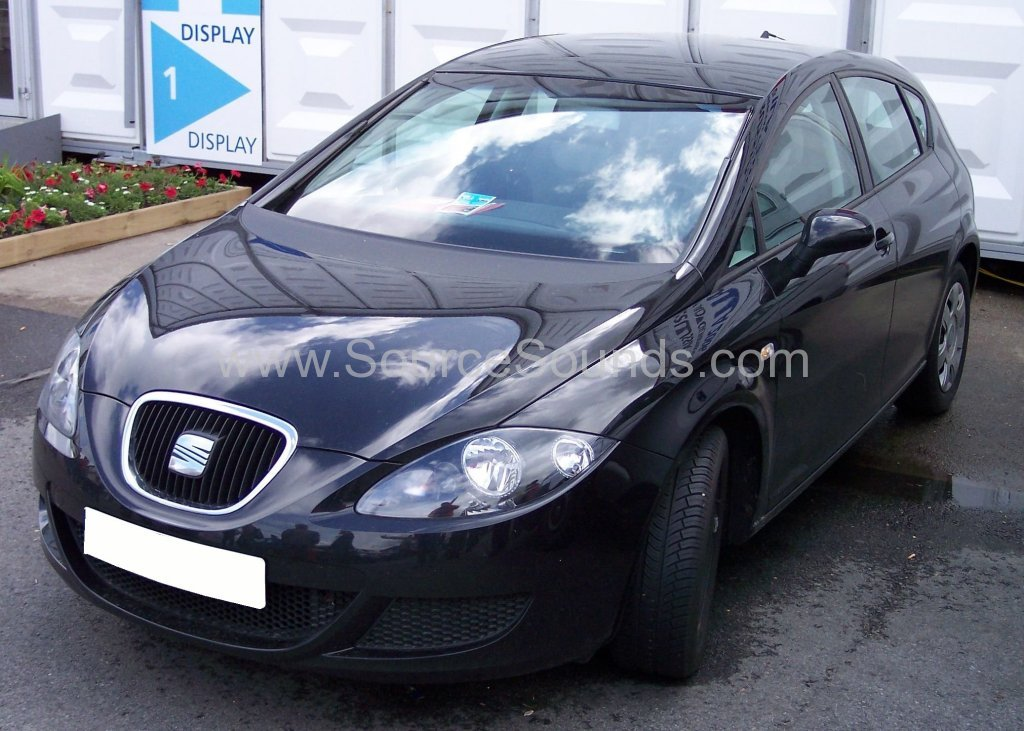Seat Leon 2007 screen upgrade 001