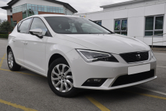Seat Leon 2014 rear painted sensors 001