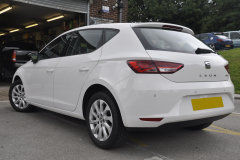 Seat Leon 2014 rear painted sensors 002