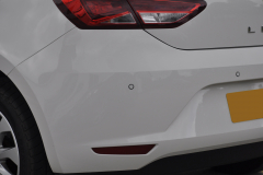 Seat Leon 2014 rear painted sensors 003