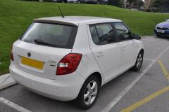 Skoda Fabia 2011 rear parking sensors 002