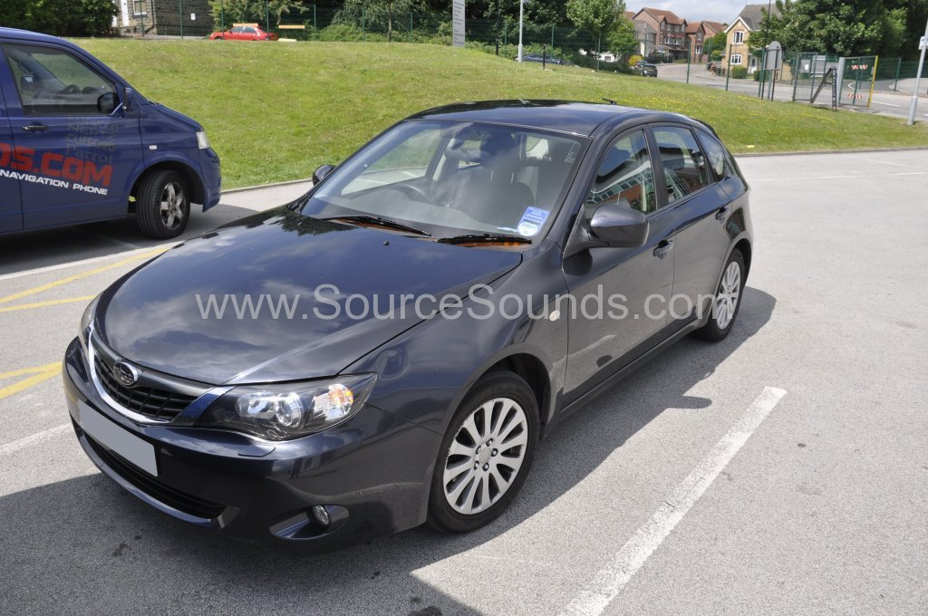 Subaru Impreza 2008 DAB stereo upgrade 001