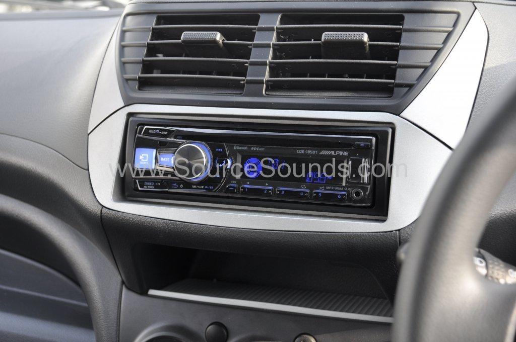 Suzuki Alto 2015 Stereo Upgrade Source Sounds