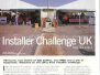 TCA Magazine UK Installer Challenge