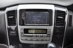 Toyota Alphard 2004 DAB screen upgrade 004