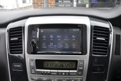 Toyota Alphard 2004 DAB screen upgrade 006