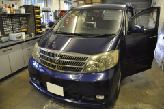 Toyota Alphard 2004 navi upgrade 001