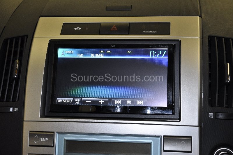 toyota corolla verso 2007 stereo upgrade source sounds. Black Bedroom Furniture Sets. Home Design Ideas