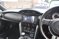 Toyota GT86 2013 DAB screen upgrade 004