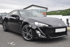 Toyota GT86 2013 front and rear sensors 001