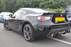 Toyota GT86 2013 front and rear sensors 004