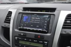 Toyota Hi lux 2009 navigation upgrade 003