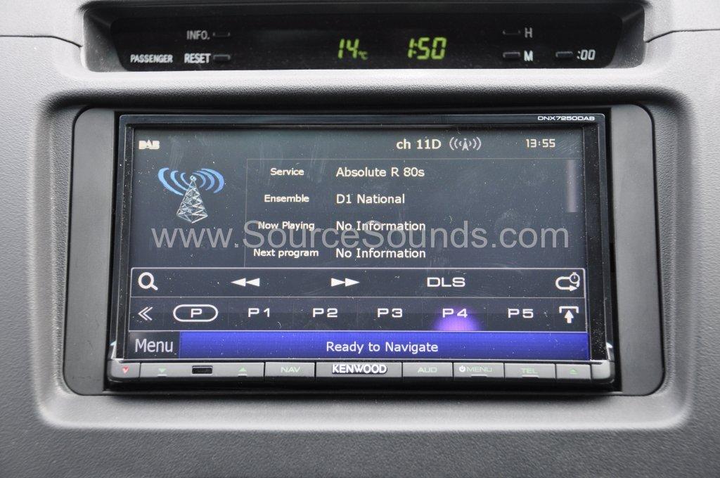 Toyota Invincible 2009 DAB upgrade 008