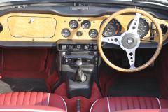 Triumph TR250 1968 audio upgrade 006