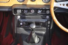 Triumph TR250 1968 audio upgrade 007