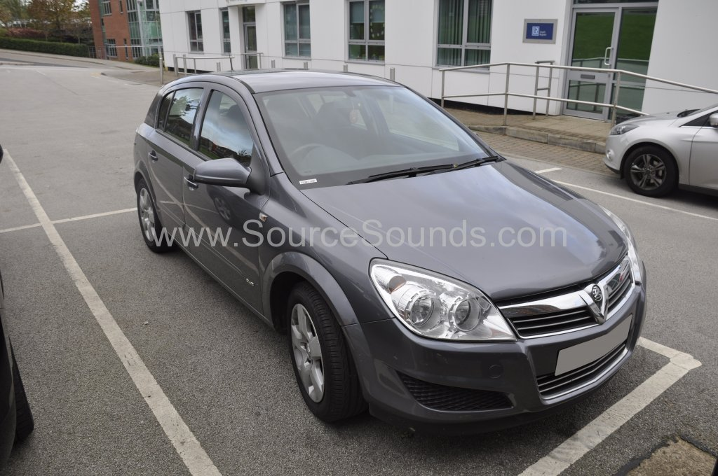Vauxhall Astra 2007 sound proofing upgrade 001