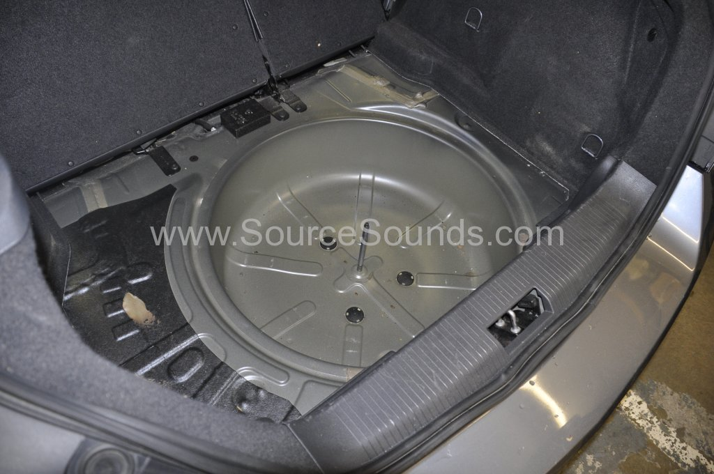 Vauxhall Astra 2007 sound proofing upgrade 003