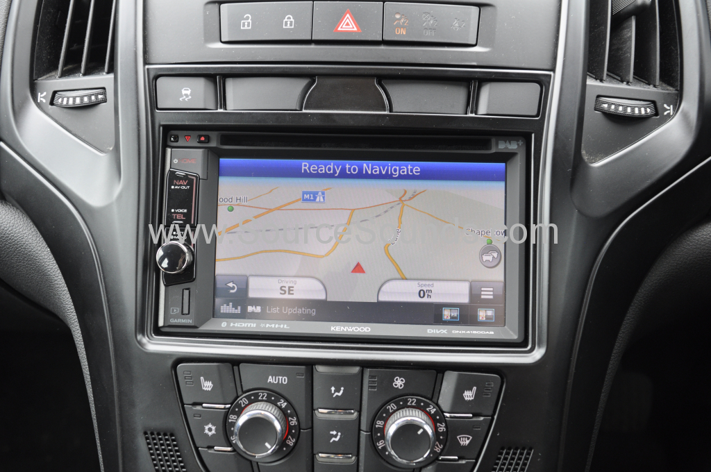 Vauxhall Astra 2010 navigation upgrade 005
