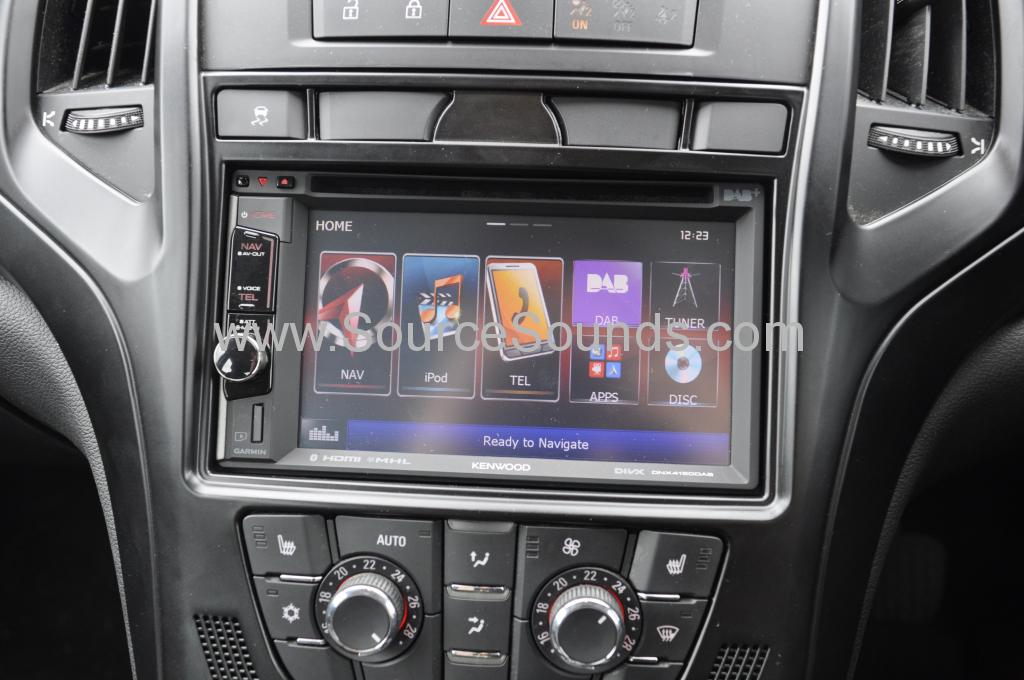 Vauxhall Astra 2010 navigation upgrade 006