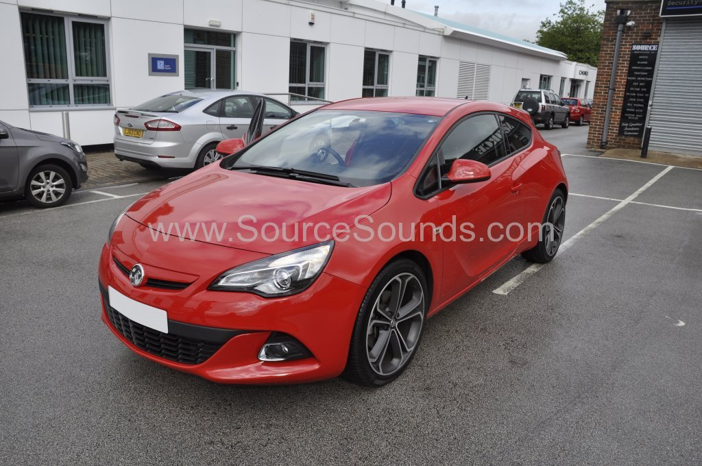 Vauxhall Astra GTC 2014 sound proofing upgrade 001