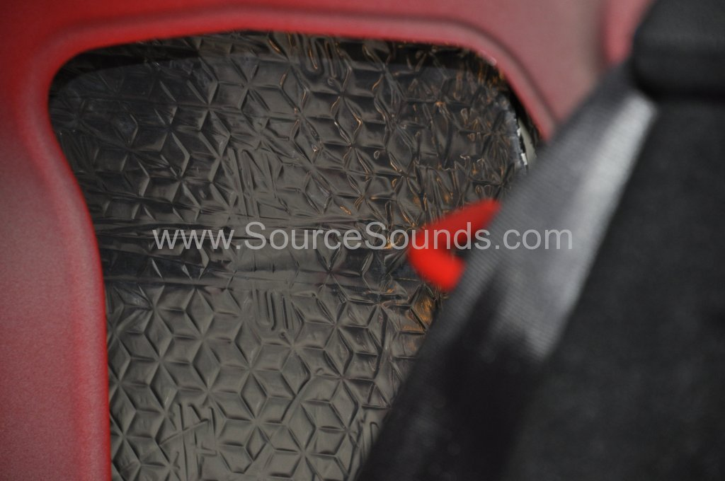 Vauxhall Astra GTC 2014 sound proofing upgrade 003