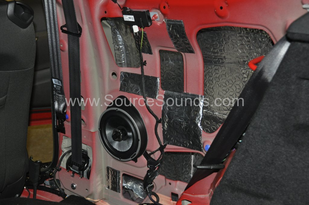Vauxhall Astra GTC 2014 sound proofing upgrade 004
