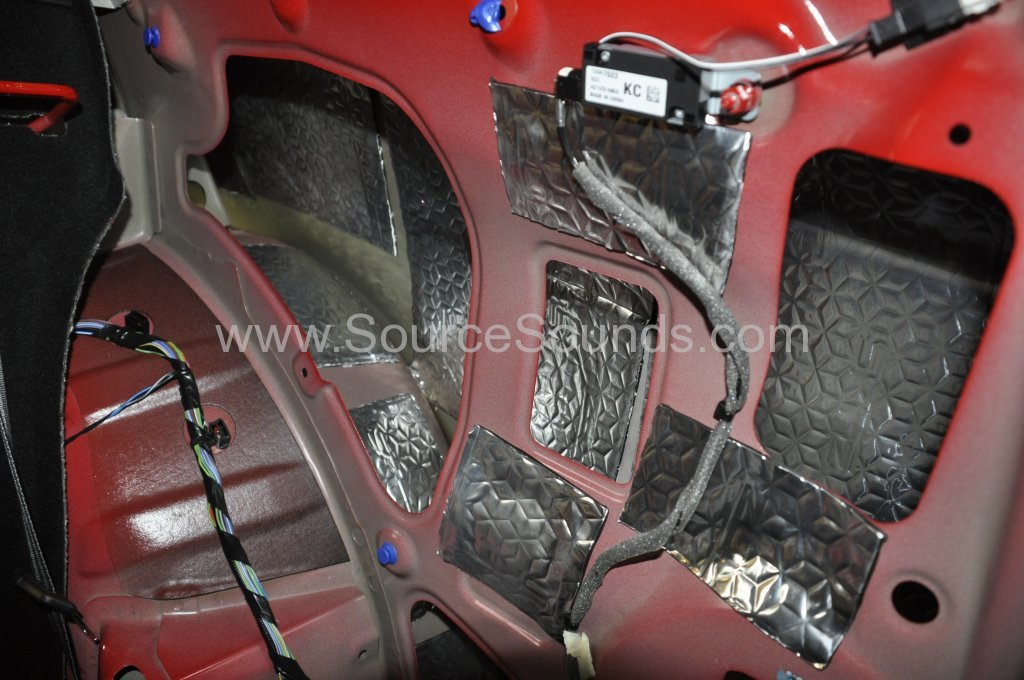 Vauxhall Astra GTC 2014 sound proofing upgrade 006