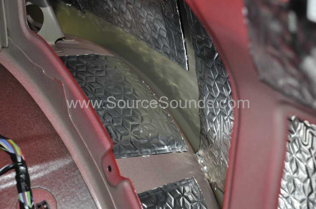 Vauxhall Astra GTC 2014 sound proofing upgrade 007