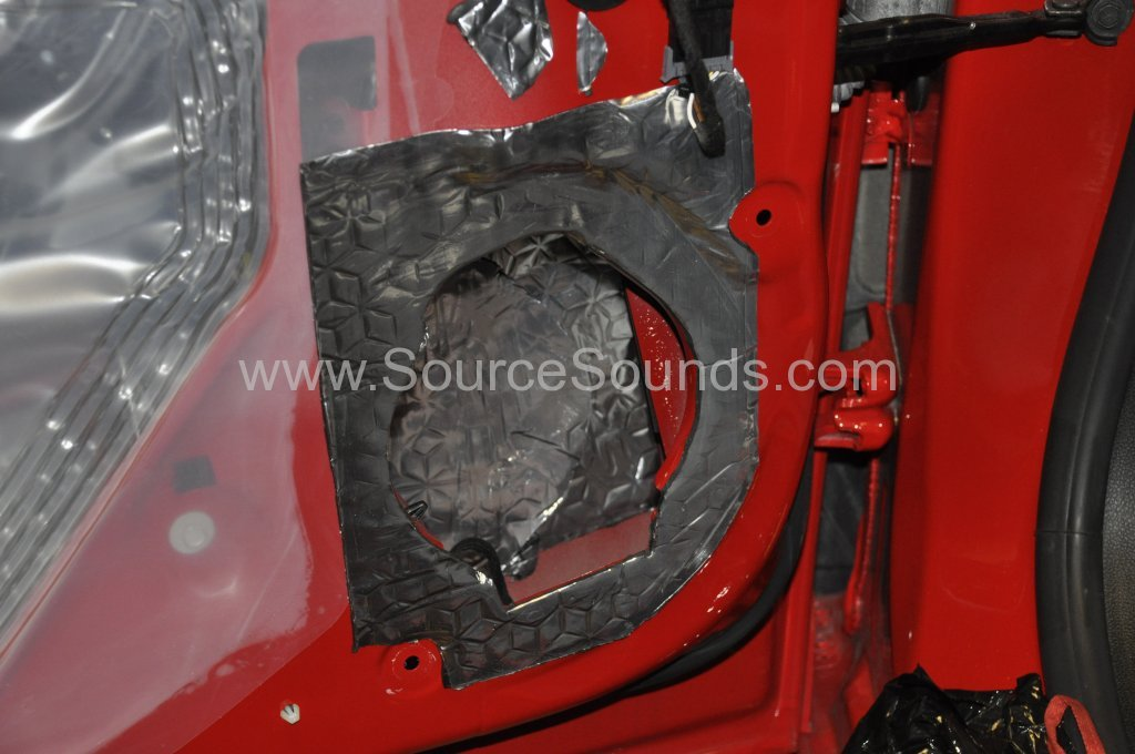 Vauxhall Astra GTC 2014 sound proofing upgrade 009