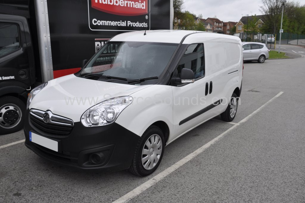 Vauxhall Combo Van 2015 bluetooth upgrade 001
