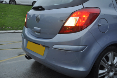 Vauxhall Corsa 2008 rear flush parking sensors 003