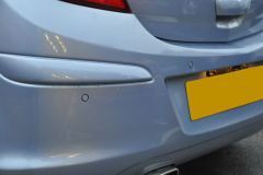 Vauxhall Corsa 2008 rear flush parking sensors 005