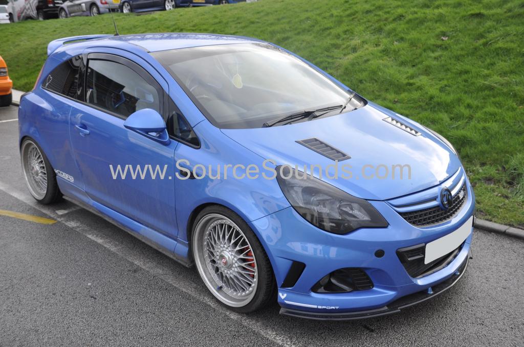Vauxhall Corsa 2013 custom boot install 001