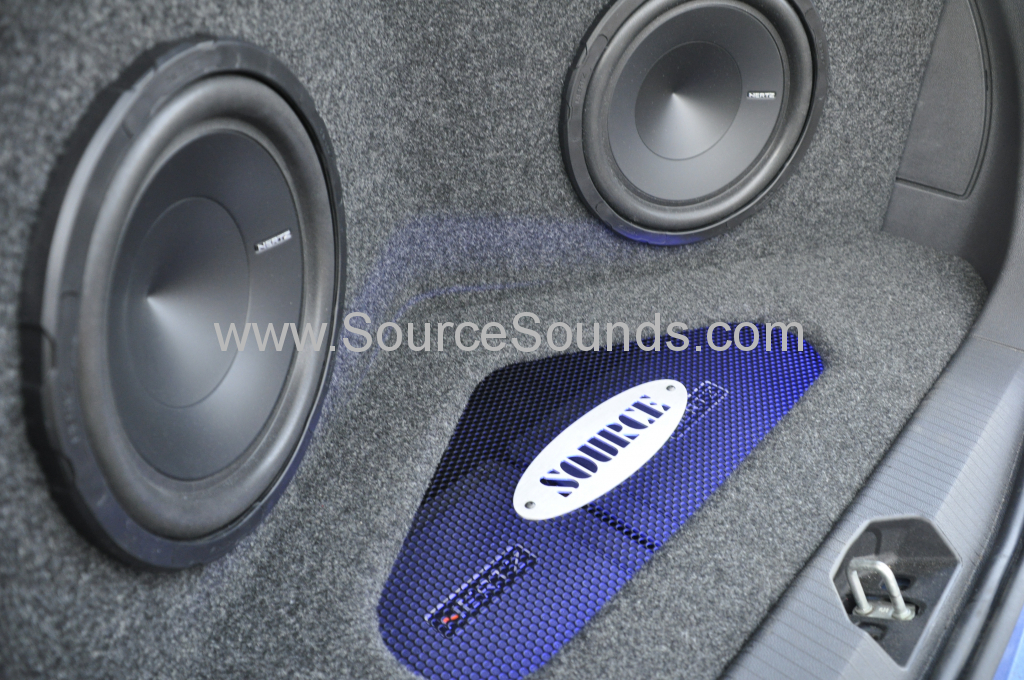 Vauxhall Corsa 2013 custom boot install 007